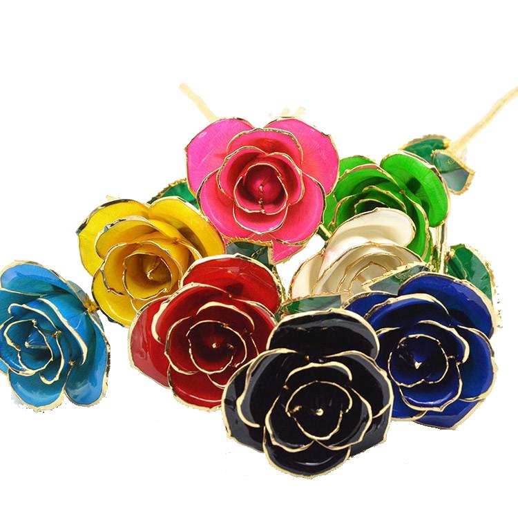 镀金玫瑰是什么材质做的?